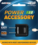 Rayovac Universal USB Wall Charger - Bulk - PS69 BULKA