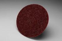 3M Scotch-Brite SC-DH Non-Woven Aluminum Oxide Maroon Hook & Loop Disc - Medium - 48 in Diameter - 13100