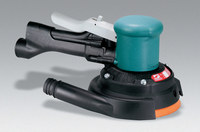 "Dynabrade 58443 6"" (152 mm) Dia. Two-Hand Gear-Driven Sander, Central Vacuum"