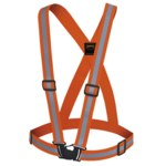 Pioneer StarTech Orange Fit All (1.5 in) Adjustable Safety Sash - 032738-04487