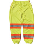 PIP 319-MTPLY Lime Yellow Large/XL Polyester High-Visibility Pants - 3 Pockets - 32 in Inseam - 616314-71973