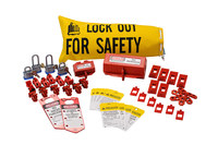 Brady Red Lockout/Tagout Kit - 754473-70862