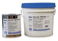 Devcon Epoxy Coat 7000 Gray Two-Part Epoxy Adhesive - Base & Accelerator (B/A) - 2 gal Pail - 12710