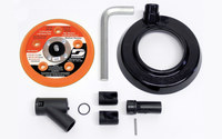 "Dynabrade 57118 3 1/2"" (89 mm) Self-Generated Vacuum Conversion Kit"