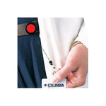 Brady Red Retractable Badge Holder 95072 - 754476-95072