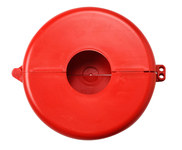 Brady Prinzing Safetee Red Gate Valve Lockout 46299 - 6 1/2 to 10 in Compatible Diameter - 754473-46299