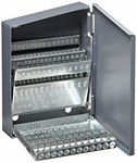 Chicago-Latrobe Huot Drill Set Index Case - 60 pieces: #1-#60 Capacity - Metal - 57806