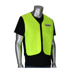 PIP EZ-Cool Lime Yellow Large Nylon Evaporative Cooling Vest - Fits 53 in Chest - 26 in Length - 616314-20707