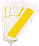 Brady Quik-Align 5060-I Yellow Vinyl Letter Label - Outdoor - 2 in Height - 2 in Character Height - B-933