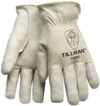 Tillman 1420 Pearl Large Grain Cowhide Leather Drivers Glove - Straight Thumb - 9 in Length - 1420L