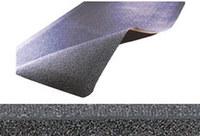 Notrax Pebble Trax 480 Black Rubber Pebbled Anti-Fatigue Mat - 2 ft Width - 3 ft Length - 480 2 X 3