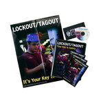 Brady Lockout/Tagout Training CD-ROM - Training Title = Lockout/Tagout Awareness - 754473-14254