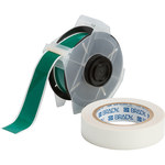 Brady Toughstripe 142172 Green Polyester Continuous Thermal Transfer Printer Label Roll - 1.125 in Width - 100 ft Length - B-483