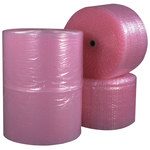 Pink Anti Static Bubble Rolls - 750 ft x 12 in x 3/16 in - SHP-7514