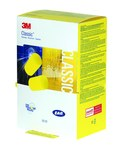 3M E-A-R Classic Rapid Release 390-1201 Yellow Uncorded Ear Plug - 29 dB NRR - Dispensing Box - 078371-66638