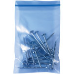 Blue VCI Reclosable Poly Bag - 5 in x 3 in - 4 mil Thick - SHP-9035