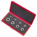 Greenfield Threading 377 Hexagon Rethreading Die Set - Right Hand Cut - Carbon Steel - 403512