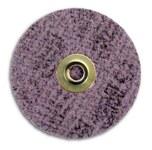 3M Scotch-Brite GB-DM Non-Woven Ceramic Maroon Quick Change Disc - Coarse - 2 in Diameter - 60374
