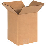 Shipping Supply Kraft Corrugated Boxes - 6 in x 6 in x 8 in - SHP-1150