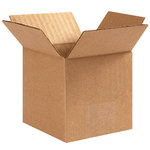 Shipping Supply Kraft Corrugated Boxes - 4 in x 4 in x 4 in - SHP-1111