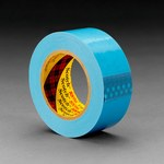 3M Scotch 8896 Blue Filament Strapping Tape - 24 mm Width x 55 m Length - 4.6 mil Thick - 42396