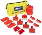 North Yellow Nylon Lockout/Tagout Kit - HONEYWELL LK112F