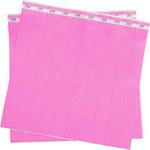 Brady Pink Tyvek ID Wristband 95101 - 1 in Width - 754476-90900