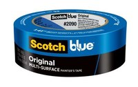 3M ScotchBlue 2090 Blue Painter's Tape - 1 in Width x 60 yd Length - 09171