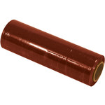 Red Colored Hand Stretch Film - 1500 ft x 18 in - 80 Gauge Thick - SHP-7075