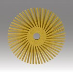 3M Scotch-Brite Ceramic RR-ZB Radial Bristle Brush - Medium Grade - 3 in Outside Diameter - 24277
