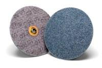3M Scotch-Brite GB-DN Non-Woven Ceramic Blue Quick Change Disc - Coarse - 7 in Diameter - 60353
