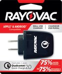 Rayovac Qualcomm Quick Charge USB 2.0 Wall Adapter - PS101A
