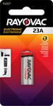 Rayovac Electronic 23A Keyless Entry Battery - Single Use Alkaline 12V - KE23A-1ZMD