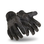 HexArmor Hex1 2125 Black 9 Goatskin Leather Work Gloves - 2125-BLK SZ 9
