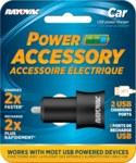 Rayovac Universal USB Car Charger - Bulk Dual Charger - PS70 BULKA