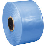Shipping Supply Blue VCI Poly Tubing - 8 in x 500 ft - 4 mil Thick - SHP-13509