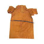 Chicago Protective Apparel Brown Large Leather Work Coat - 40 in Length - 564-CL-40 LG