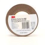 3M 8067 Tan Flashing Tape - 3 in Width x 75 ft Length - 9.9 mil Thick - 64150
