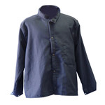 Chicago Protective Apparel Blue Large Carbonx Work Jacket - 30 in Length - 600-CX10 LG
