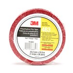 3M 483 Red Aerospace Tape - 1 in Width x 36 yd Length - 5.3 mil Thick - 68831