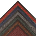 Notrax Estes 132 Charcoal Indoor Decalon Carpeted Entry Mat - 3 ft Width - 2 ft Length - Vinyl Backing Material - 132 2 X 3 CH