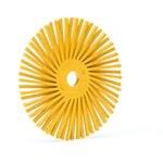 3M Scotch-Brite Ceramic RB-ZB Radial Bristle Brush - Medium Grade - 3/8 in Center Hole - 3 in Outside Diameter - 24280