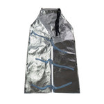 Chicago Protective Apparel Aluminized Kevlar Heat-Resistant Apron - 24 in Width - 36 in Length - 550-AKV-36-SW