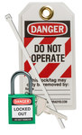 Brady Green Lockout/Tagout Kit - 754473-71979