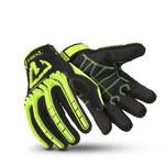 HexArmor Hex1 2131 Black/Yellow 6 TP-X Work Gloves - ANSI A1 Cut Resistance - 2131-XS (6)