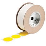Brady 121037 Yellow Dot Vinyl Dot Marking Label - Outdoor - 2 in. Dia Width - B-7569