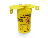 Brady Prinzing Yellow Polypropylene Electrical Plug Lockout PLO23-48 - 754473-45843