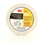 3M 483 White Aerospace Tape - 1 in Width x 36 yd Length - 5.3 mil Thick - 68854