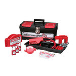 Brady Black on Red Lockout/Tagout Kit - 754476-03475