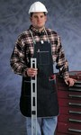 Ansell 57-004 Blue Denim Reusable Apron - 2 Pockets - 28 in Width - 36 in Length - 076490-50325